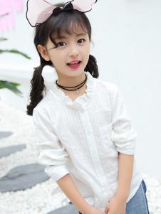 賓果童話新款白襯衫