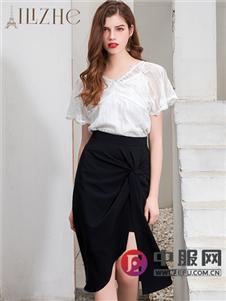 艾丽哲新款包臀时尚半裙