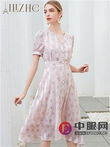 艾麗哲新款時尚修身連衣裙
