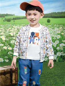 鉛筆俱樂部新款印花外套