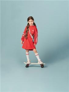 水孩儿女童裙子套装