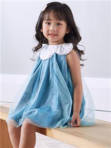 嗒嘀嗒春装新款小童连衣裙