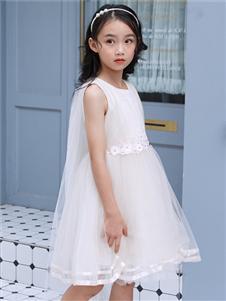嗒嘀嗒新款时尚网纱连衣裙