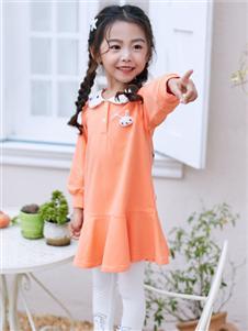 嗒嘀嗒春装新款时尚连衣裙