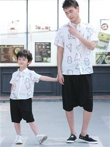 賓果童話新款印花襯衫