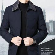 爱梵缇--羊毛毛领,白鸭绒羽绒服