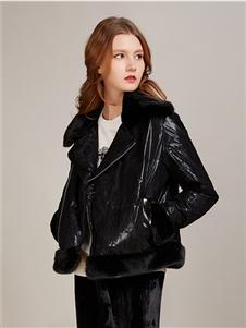 卡榭黑色夹克
