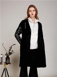卡榭黑色外套