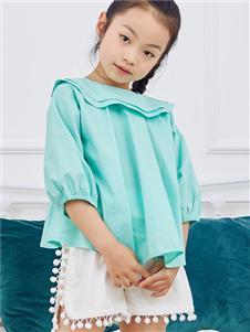 V-rules蓝色娃娃衫