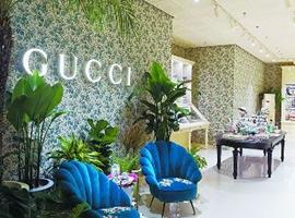 GUCCI在北京开设美妆概念店 争夺年轻者心智