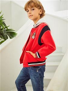 暇步士新款红色时尚外套
