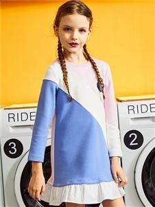 暇步士2020春季新款连衣裙
