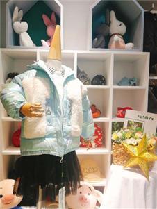 可米芽童装冬装棉衣