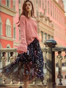 衣魅人2020春时尚纱裙