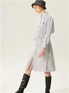 衣魅人2020新款衬衫裙