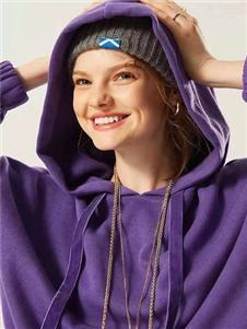 衣魅人2020紫色卫衣