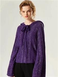 衣魅人2020紫色上衣
