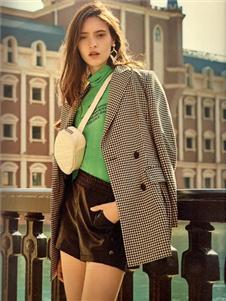 衣魅人2020格子外套