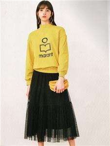 衣魅人2020黑色半裙
