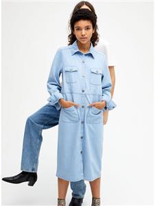 Monki蓝色连衣裙
