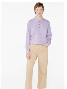 Monki紫色衬衫