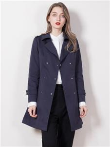 柏维娅蓝色外套