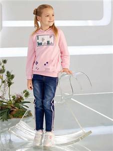 青蛙王子粉色卫衣