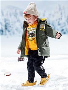 青蛙王子男童冬外套