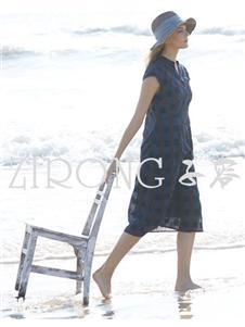 子容 ZIRONG黑色连衣裙