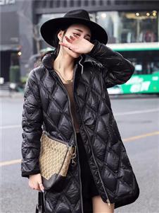 诺艾琪黑色羽绒衣