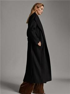 Massimo黑色大衣