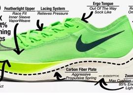 不止耐克NEXT%,碳板結合泡棉類跑鞋都在被調查