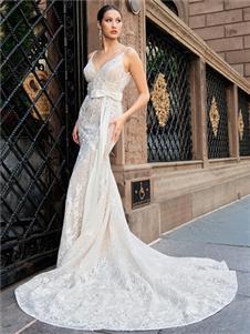 yumi katsura修身婚纱