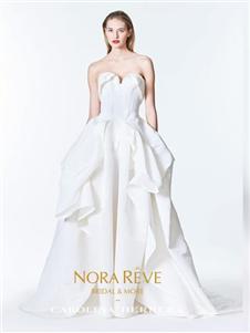 NORAREVE贴身型婚纱