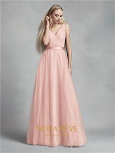 NORAREVE粉色礼服