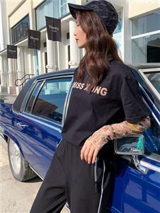 香影X.YING 黑色T恤