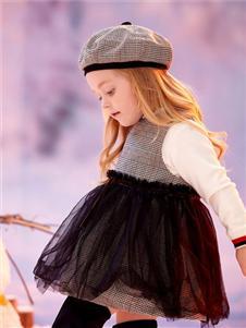可拉比特拼接连衣裙