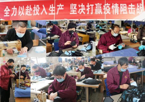 """太原""""三晋老字号""""服装企业把车间当战场"""
