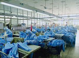探路者:非医用防护服已开始生产 助力疫情防控