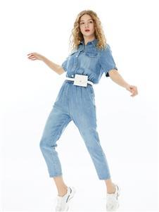 城市衣柜女装城市衣柜2020春夏装牛仔连体裤