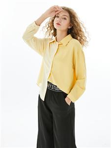 城市衣柜女装城市衣柜2020春夏装衬衫