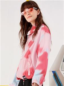 我爱巧克力2020春款粉色外套