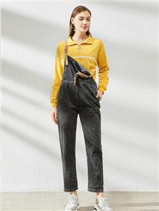 卡尔诺2020春装背带裤
