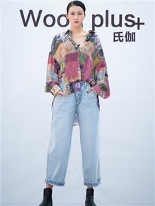 氏伽2020春夏装牛仔裤