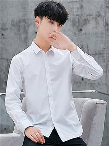 喬治邦尼男裝白色襯衫