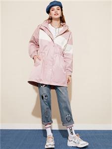 木果果木2020春款粉色外套