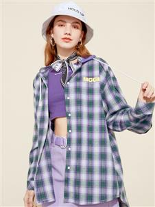 木果果木2020春款格子衬衫