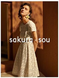 sakura·sou-2020S&S优雅气质连衣裙