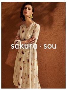 sakura·sou-2020S&S雪纺连衣裙
