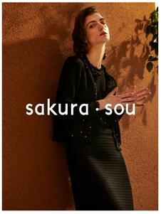sakura·sou-2020S&S黑色连衣裙